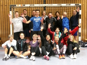 Die Skigymnastik Gruppe